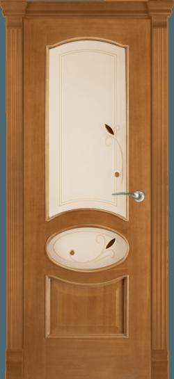 Дверь Алина витраж Сабадель (Анегри тон 2)