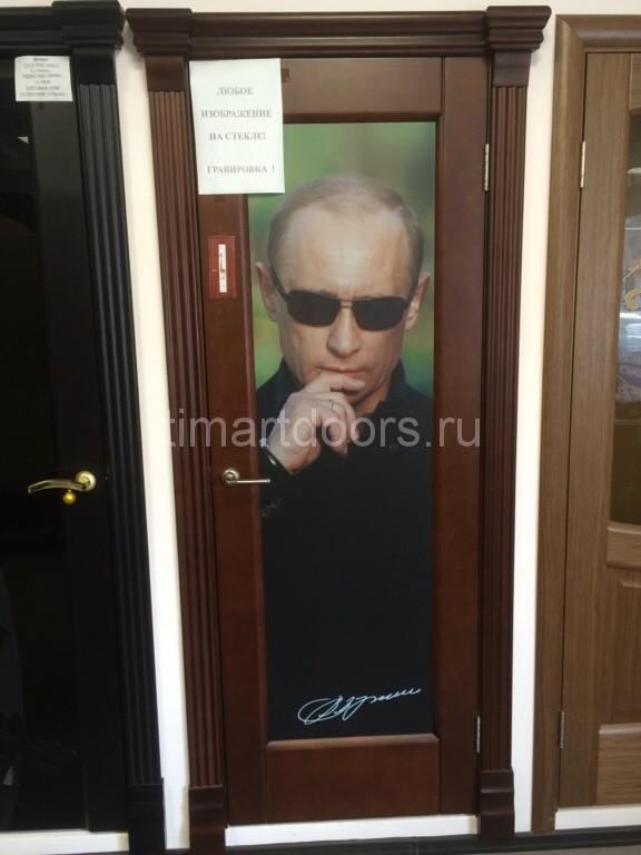 Дверь выполненная по задумке клиента.